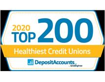 2020 Top 200 Healthiest Credit Unions