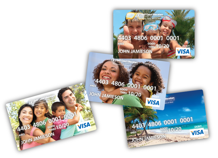 custom visa credit cards