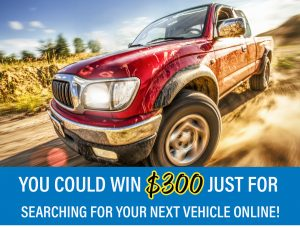 March is Truck Month, & You Could Win $300!