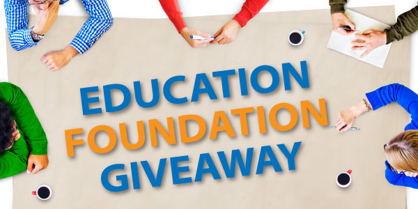 Education Foundation Giveaway image