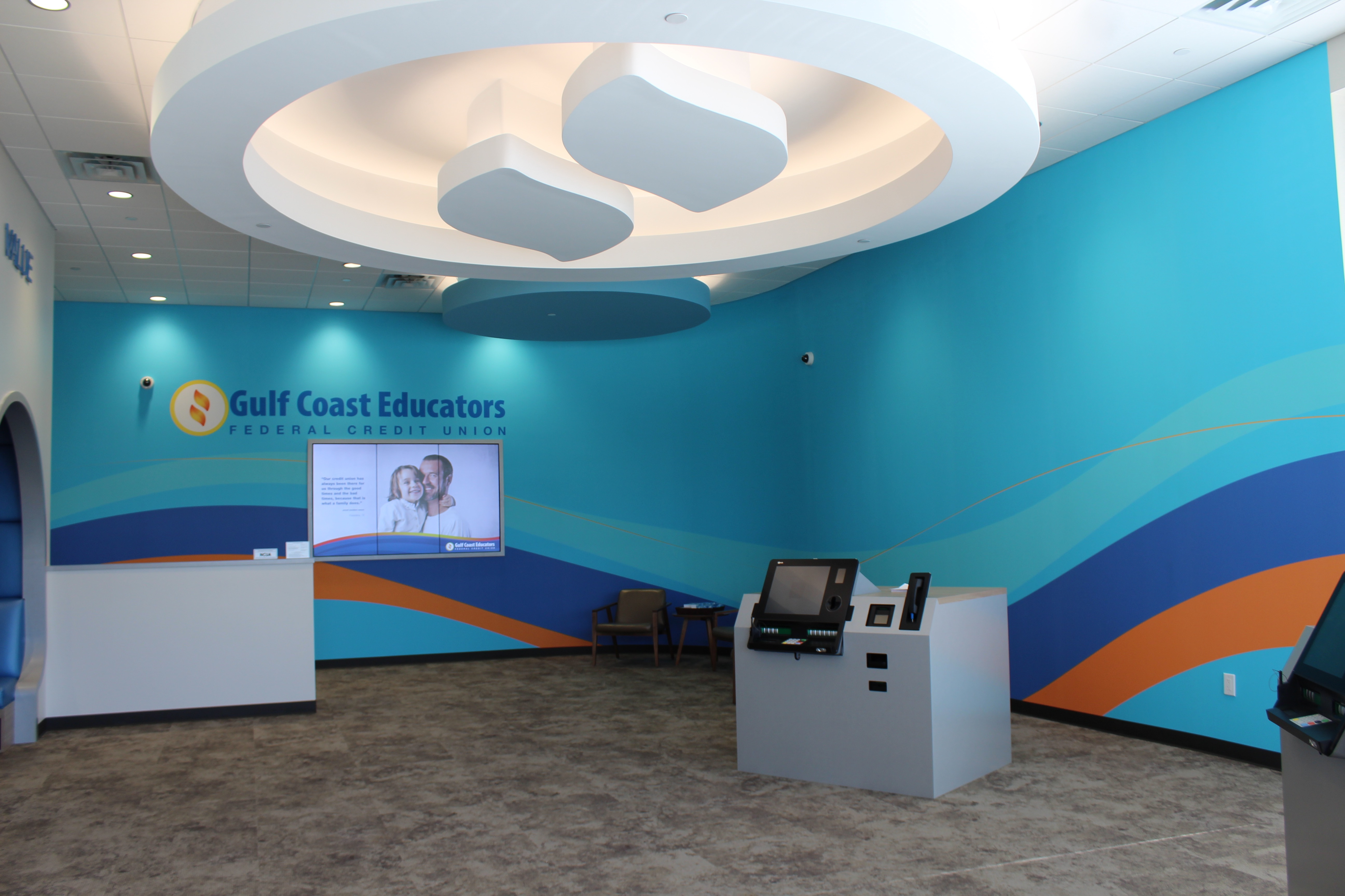 Summerwood branch lobby