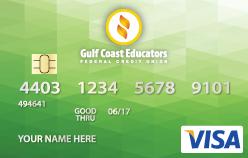 Green debit card