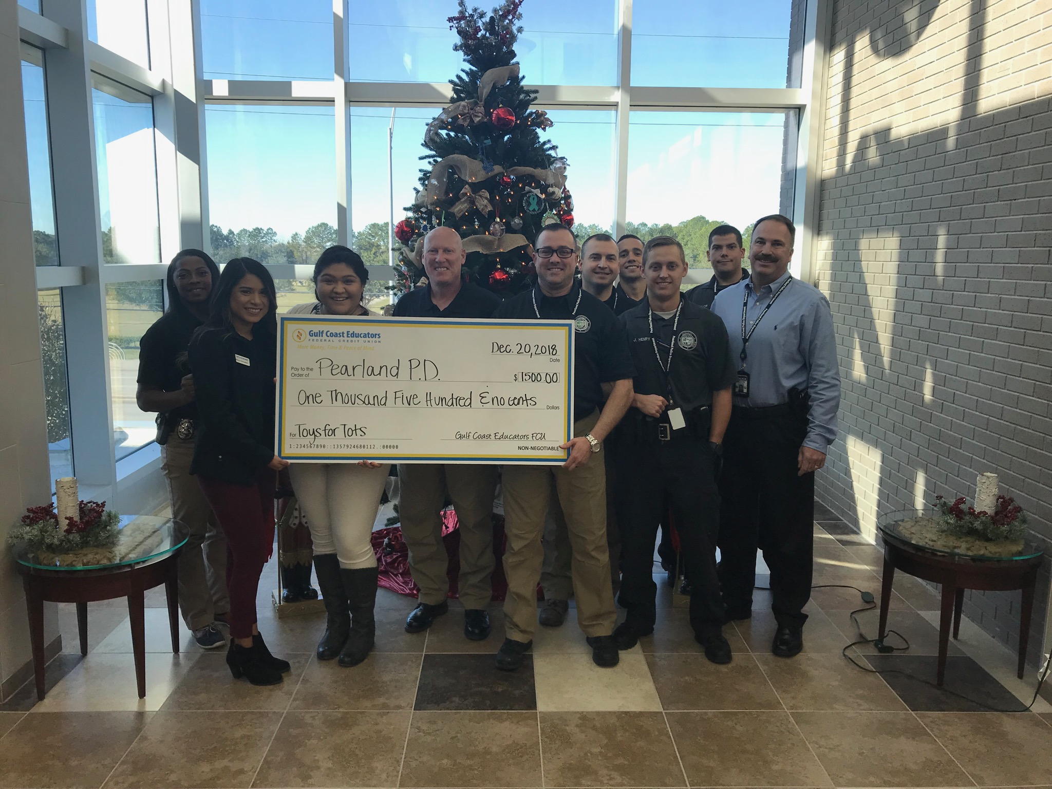Pearland PD Toys for Tots