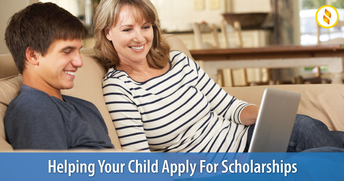 Help Your Child Apply For Scholarships Image