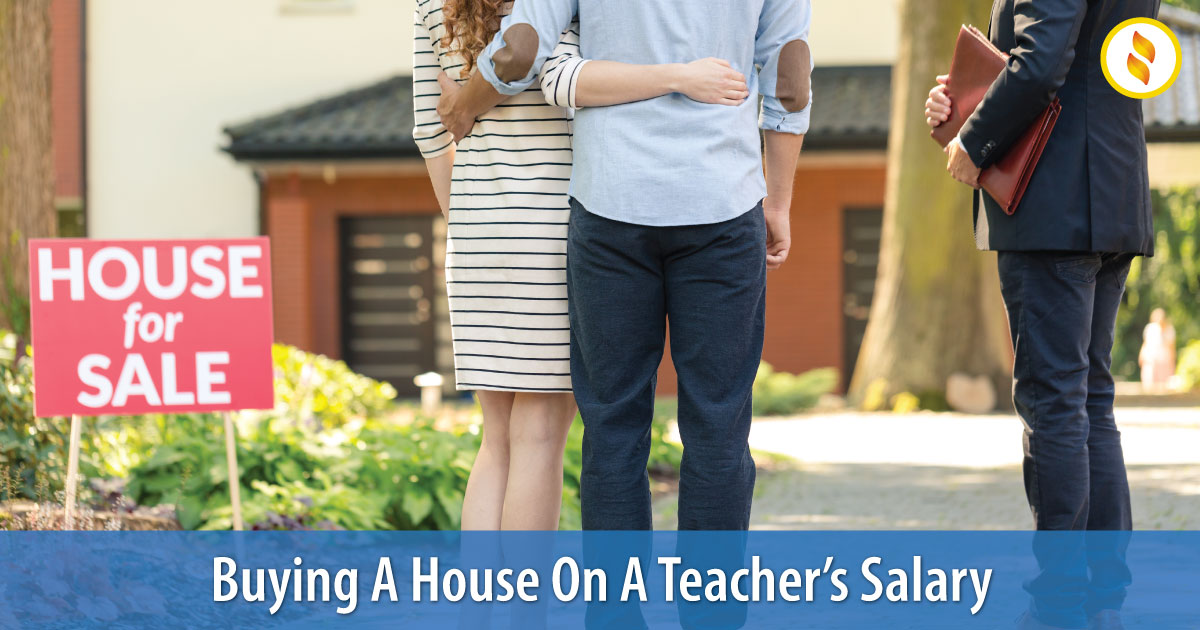 Buying a house on a teachers salary image